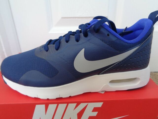 Nike Air Max Tavas GS Navy White Kids Youth Running Shoes SNEAKERS ... d5d650018f9