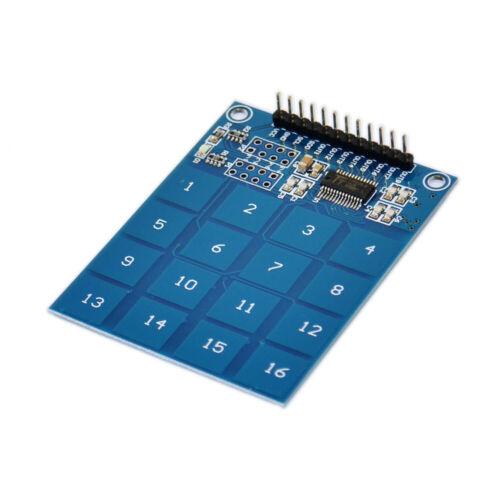 TTP229 Kapazitiver Schalter Berühren Sensormodul Tastatur Taster für Arduino