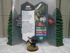 Heroscape Custom Punisher Double Sided Card & Figure w/ Sleeve Marvel