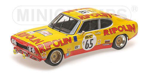 MINICHAMPS 155728565 échelle 1 18 Ford RS 2600 Tour de France 1972 neu en neuf dans sa boîte