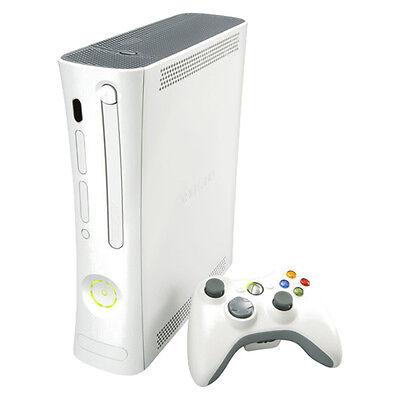 Microsoft Xbox 360 Arcade 512 MB Matte White Console Very Good Condition