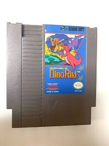 The-Adventures-of-Dino-Riki-ORIGINAL-NINTENDO-NES-GAME-Tested-Working-Authentic