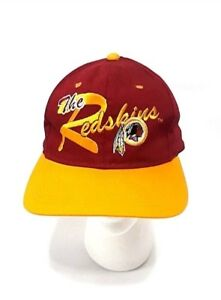 b946c3d712ce57 Vintage 90's NFL Washington Redskins Snapback Hat By Drew Pearson ...