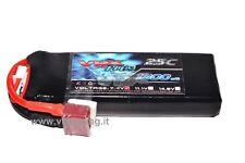 H0060 BATTERIA LIPO T-PLUG RICARICABILE 1300 mAh 7.4V (2S) 25C PER 1/16 1/18 VRX