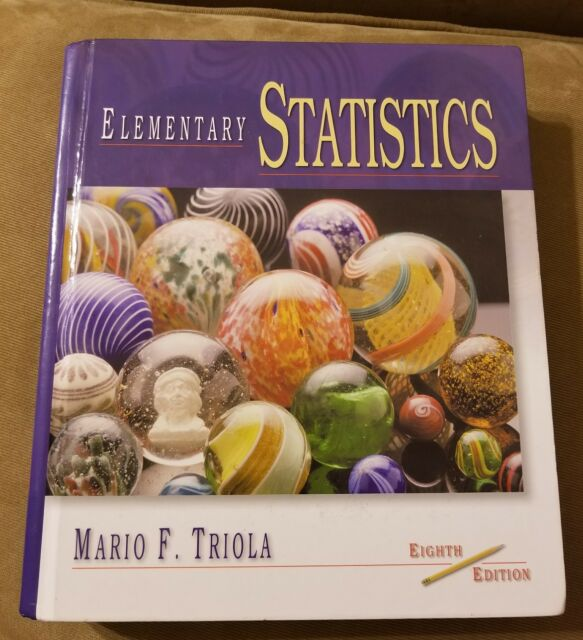 Biostatistics for the biological and health sciences by m. D.