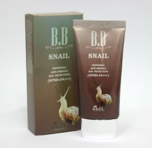 EKEL-Snail-BB-Cream-SPF50-PA-Korea-Face-Makeup-Korean-Beauty-Cosmetic-50ml