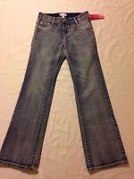 Xhilaration Boot Cut Blue Jeans Girl's Juniors 14 (waist 28-30 Inseam 28.5)