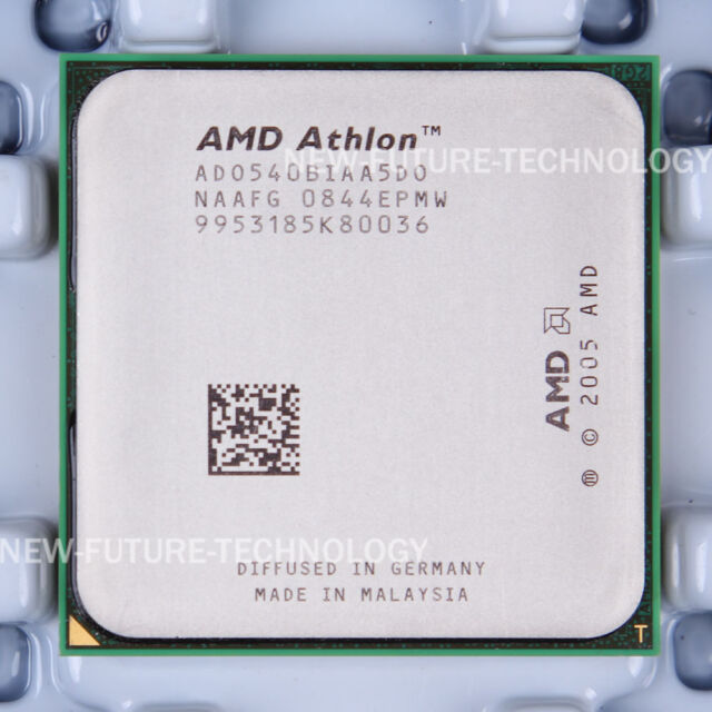 AMD Athlon 64 X2 5400B (ADO540BIAA5DO) CPU 1000/2.8 GHz Socket AM2 100% Working