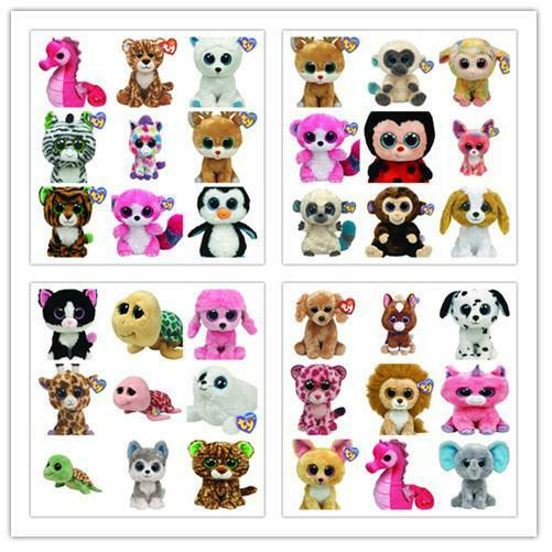 Clearances  Ty Beanie Boos Soft Plush Toys Collection inc 2018 New Design