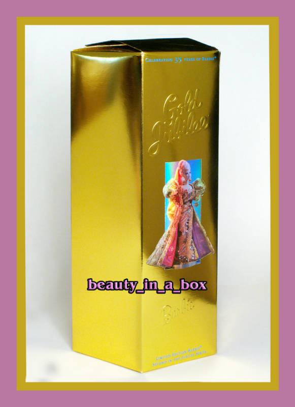 Muñeca Barbie del Jubileo de oro 35th aniversario en el Diseñador de remitente