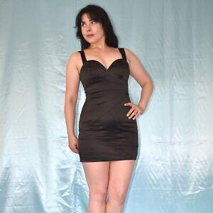 sexy-Ausschnitt-im-ABENDKLEID-S-Minikleid-Cocktailkleid-Etuikleid-Ballkleid