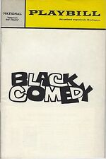circa 1960s BLACK COMEDY - NATIONAL THEATRE PLAYBILL PROGRAM