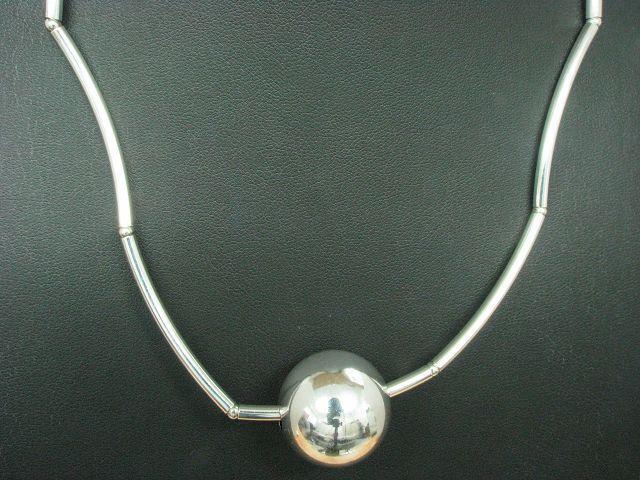 925 Sterling silver Kette & Anhänger   Echtsilver   47,2cm   12,8g
