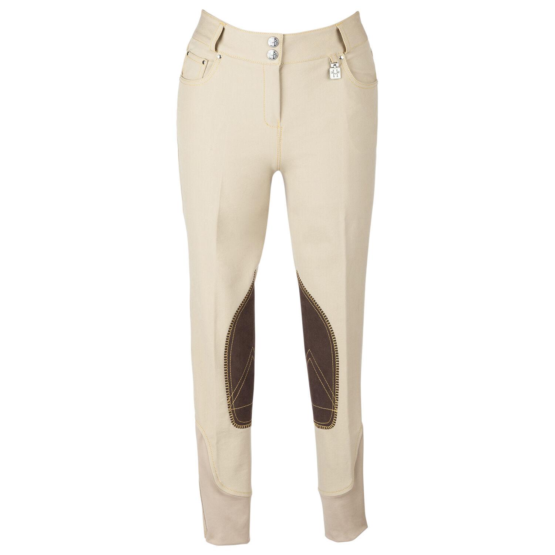Huntley Equestrian Women's Beige Breeches