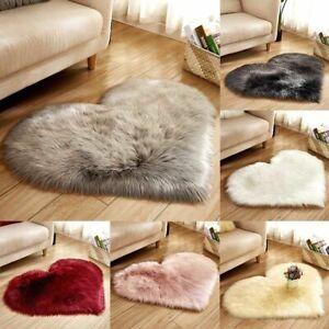 Fluffy Rug Shaggy Floor Mat Fur Bedroom