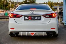MV-Tuning Rear Diffuser №2 for Bumper Mazda 6 / Attenza GJ 2012-2017
