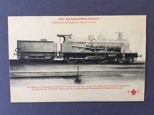 1910-LOCOMOTORA-VAPOR-No-305-de-ESPANA-ANDALUCIA-TREN-Alsacienne-Grafenstaden