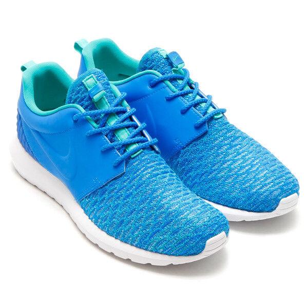 Nike ROSHE NM FLYKNIT Baskets PREMIUM Bleu homme fonctionnement Baskets FLYKNIT chaussures 746825 40010 34d200