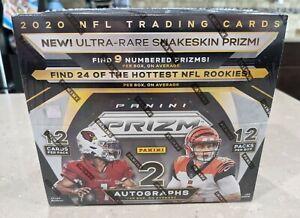 2020 Panini Prizm Football NFL Hobby Box New Sealed