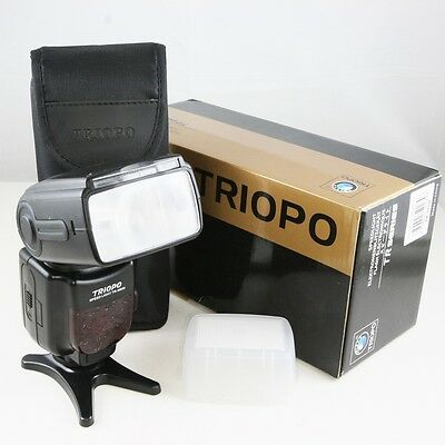 Triopo TR-980 TTL Blitzgerät für Nikon D4S D750 D810 D610 D5300 D7100 SB-900
