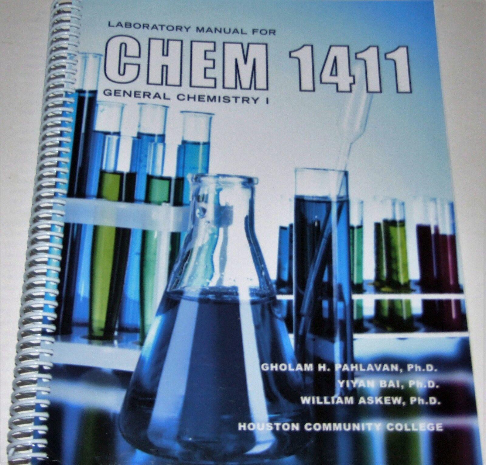 Laboratory Manual for Chem 1411 General Chemistry 1 | eBay