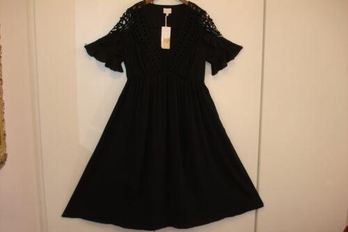 Wear Uk Lewis Size Macrame East Party Wear Long John Lace Black 12 U0Zw1q1