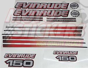 Evinrude-150-ficht-ram-injection-kit-adesivi-calotta-nera-fuoribordo