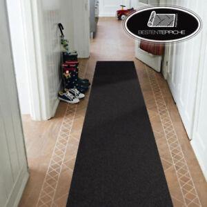 Détails sur Moderne Tapis D\'Entrée Noir Corridor Couloir Vestibule Largeur  50, 60, 70 cm