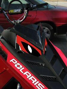 POLARIS RUSH PRO RMK 600 700 800 INDY ASSAULT 155 163 HEADLIGHT  DECAL STICKER e