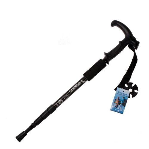 50 110cm Nordisch Gehstock Faltbar Wandern Schläger Anti Shock Teleskop Schläger