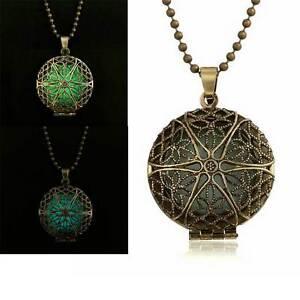 Collana-luminosa-ciondolo-pendente-fluorescente-luminoso-bronzo-anticato-vintage