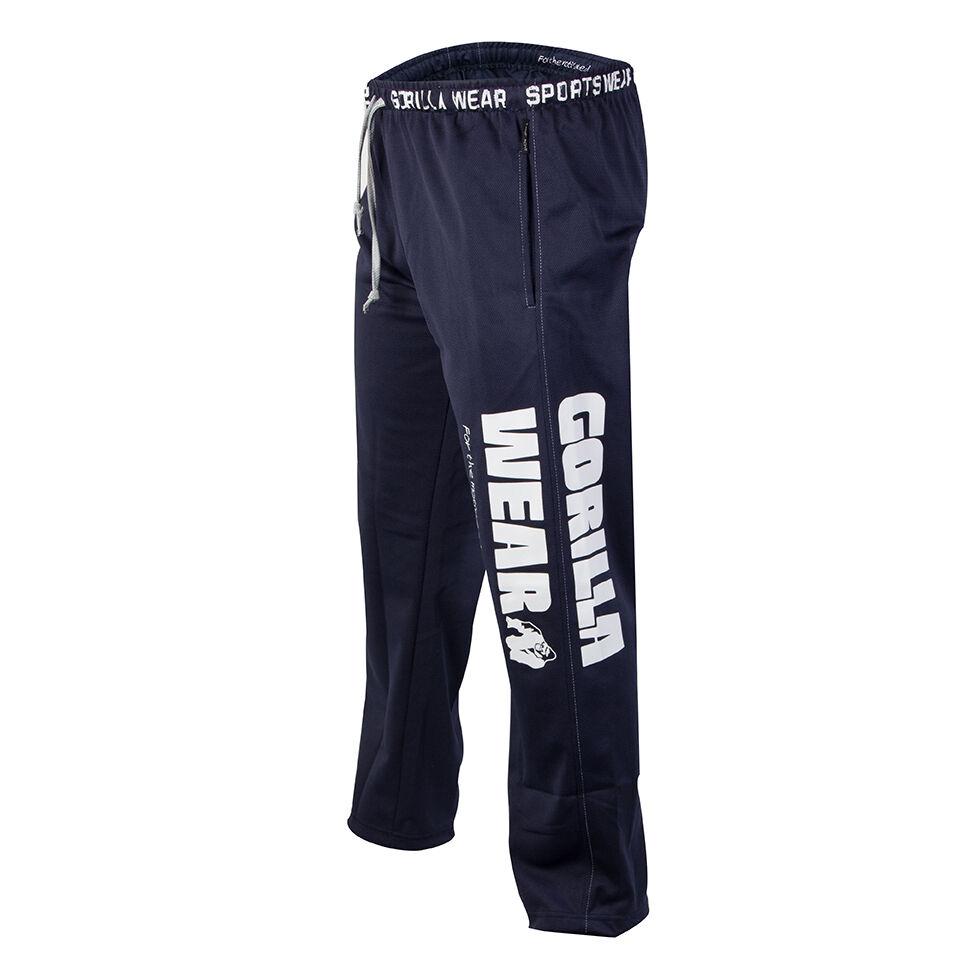 Gorilla Wear Logo Mesh Pants navy    Erste Gruppe von Kunden