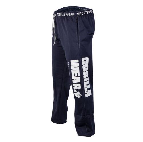Gorilla Wear Logo Mesh Pants Navy