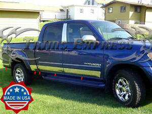fit-2000-2006-Toyota-Tundra-Double-Cab-Short-Bed-Rocker-Panel-Trim-Stainless