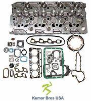 Kumarbros Usa Bobcat T190 Kubota V2003 complete Cyl Head & Full Gasket Set