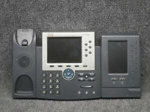 Details about Cisco IP Phone Models 7965 + 7916 Business VoIP Phones  *Tested Working*