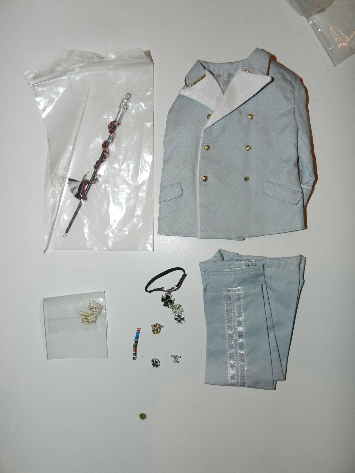 1 6 SCALE 3R LUFFWAFFER FIELMARCHELS LIGHT blueE UNIFORM
