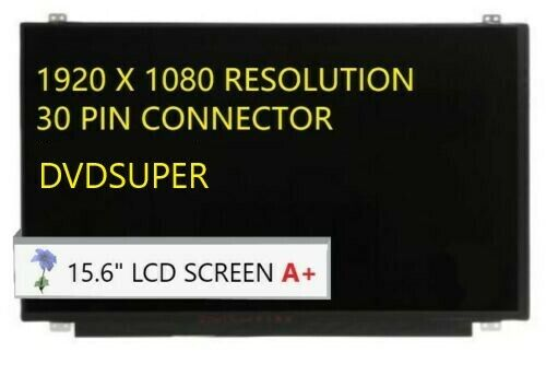 Non-Touch New Substitute Only Generic LCD Display Replacement FITS Dell C1JFR 0CJJFR 15.6 FHD WUXGA 1080P eDP Slim LCD LED Screen