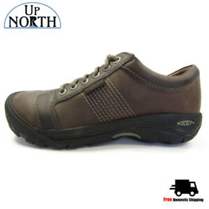 Keen-Mens-Austin-Casual-Shoe-1007722-Chocolate-Brown-WP-NEW-FREE-SHIPPING
