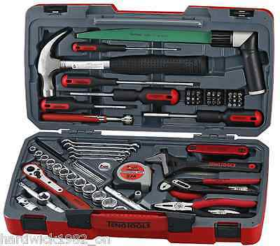 TENG TOOLS TM079 79 PIECE TOOL SET 3/8 DRIVE SOCKETS + HAMMERS + RATCHET+ LOADS!