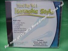 Third Day Volume 1 & 2 Christian Karaoke Style CD G Daywind 12 Songs