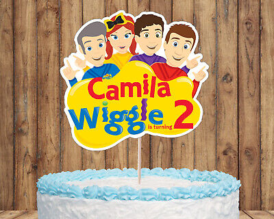 Stupendous Wiggles Cake Topper The Wiggles Wiggles Birthday Wiggles Party Birthday Cards Printable Opercafe Filternl