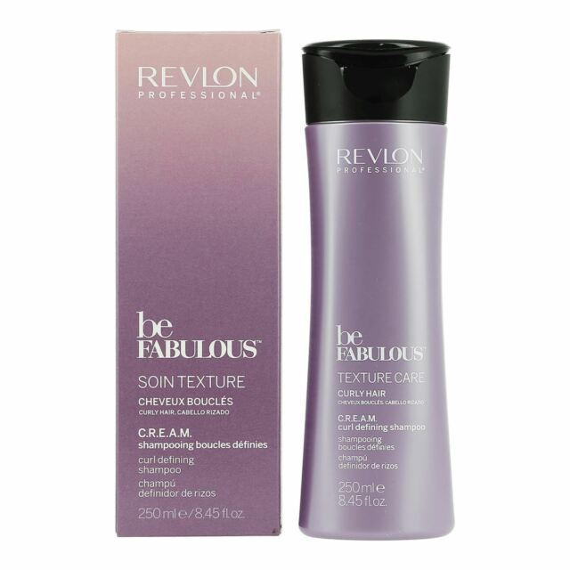 247bdc8bd1f Revlon Be Fabulous Texture Care C R.E.A.M. Curl Defining Shampoo 250ml