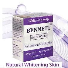 6pcs Bennett Extra White Antioxidant Whitening Soap 130 G.