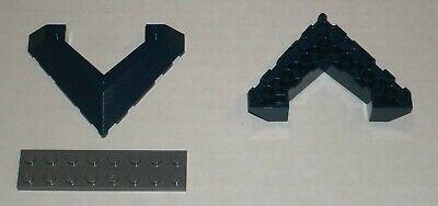 Blue Dark Azur Brick Curved 1x2 Slope New New 6 x lego 11477 Brick Bent