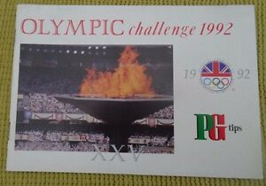 Brooke Bond Olympic Challenge 1992 Card Album - <span itemprop='availableAtOrFrom'>Rotherham, United Kingdom</span> - Brooke Bond Olympic Challenge 1992 Card Album - Rotherham, United Kingdom