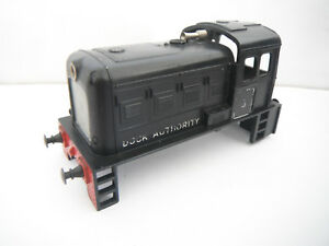 RéAliste Triang Tc R253 Diesel Dock Authority Black Shunter Body Transcontinental Gc