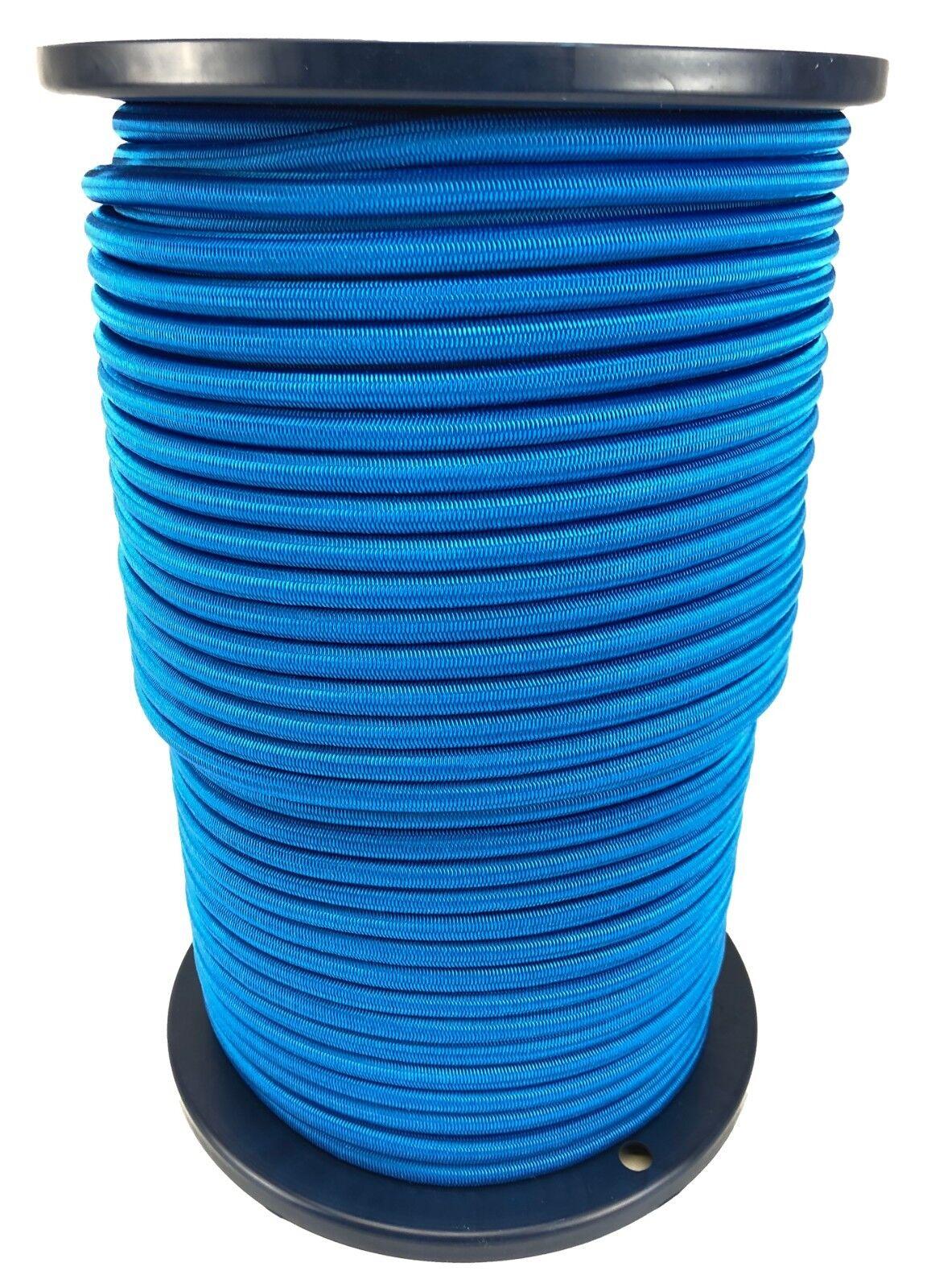 10mm Königsblau Elastischer Gummizug Seil Gummiseil Festbinden UV Stabil