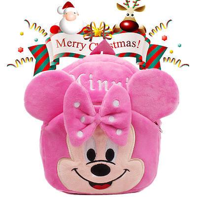 *Christmas Gift* Mini Toddler Kids Backpack Rucksack Bag Disney Mcikey Mouse