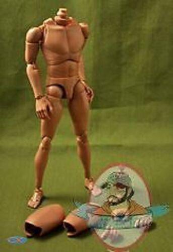 Narrow Shoulders 1//6 Scale Caucasian Nude Body